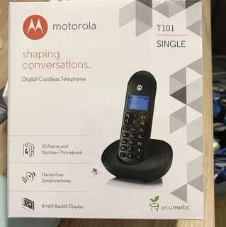 Motorola T101 digital cordless telephone