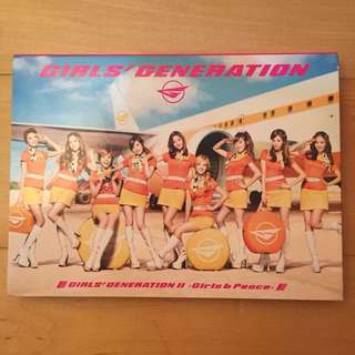 Girls' Generation II - Girls & Peace [2nd Japan Album]