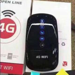 4G POCKET WIFI OPEN LINE
