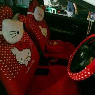 Sarung Jok dan Bantal Mobil Agya dan Ayla