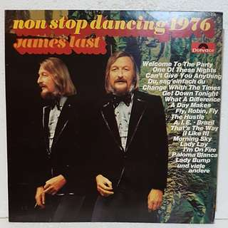 James Last Non-Stop Dancing 1976 Vinyl Record