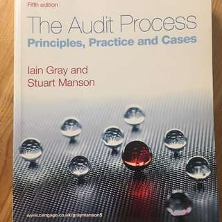 The Audit Process (Principies,Practice and Cases)