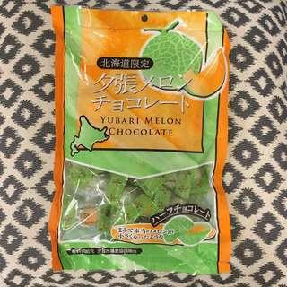 🚚 哈密瓜巧克力
