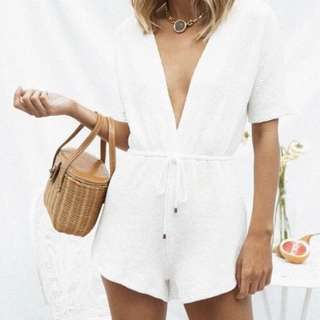 Sabo skirt Ellison plunge playsuit