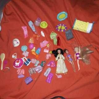 Polly Pocket with Disney Princess Jasmine