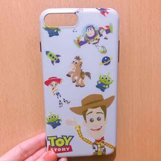 Iphone 7/8plus case toys story 軟身