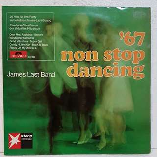 James Last Non Stop Dancing '67 Vinyl Record