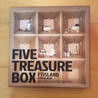 Ft Island - Five Treasure Box [4th Album]