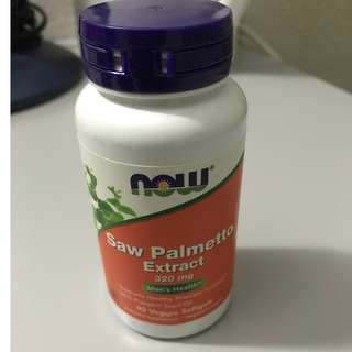 Now Foods, Saw Palmetto Extract, 320 mg, 90 Veggie Softgels