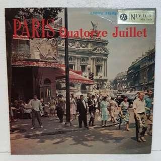 PARIS Quatorze Juillet Vinyl Record