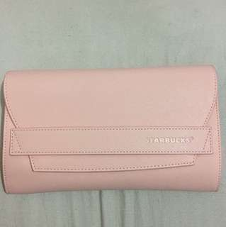 Starbucks Clutch Bag