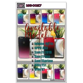 CODE: MG-0027 2in1 Ombre Case w/ Tempered Glass