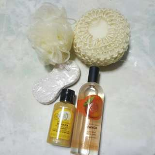 The Body Shop body care set