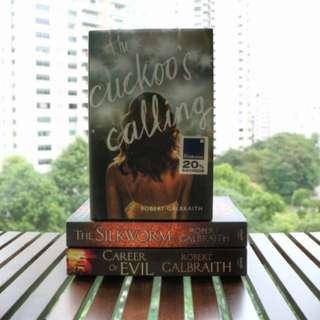 The Cuckoo's Calling - Robert Galbraith (JK Rowling's pseudonym)