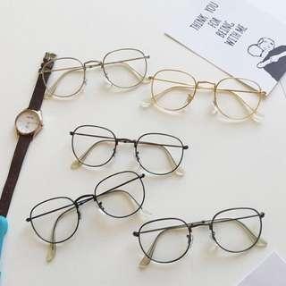 [po] tumblr korean ulzzang retro spectacles