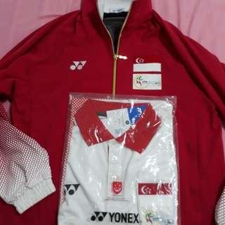 BNWT - Yonex Team Singapore Attire