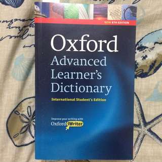 Oxford Advanced Learner's Dictionary International Student Edition for IELTS, TOEFL