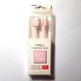 MINISO TYPE C CHARGING CABLE kabel charger