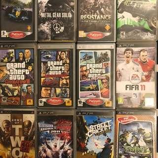 CHEAP PSP Games