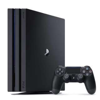 Brand new PS4 Pro 1TB for rental