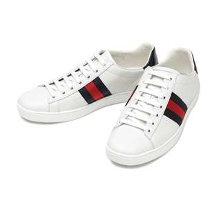 Gucci Ace Leather Sneaker 休閒鞋