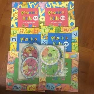 Phonics Kids series with DVD