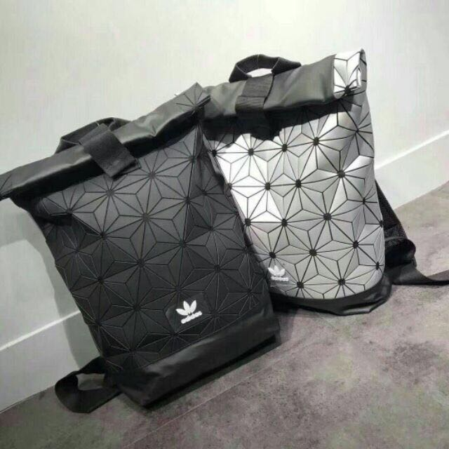 adidas silver backpack