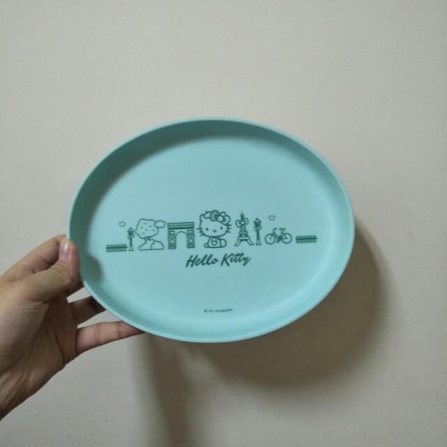 🚫711法國風造型餐盤竹籤維盤