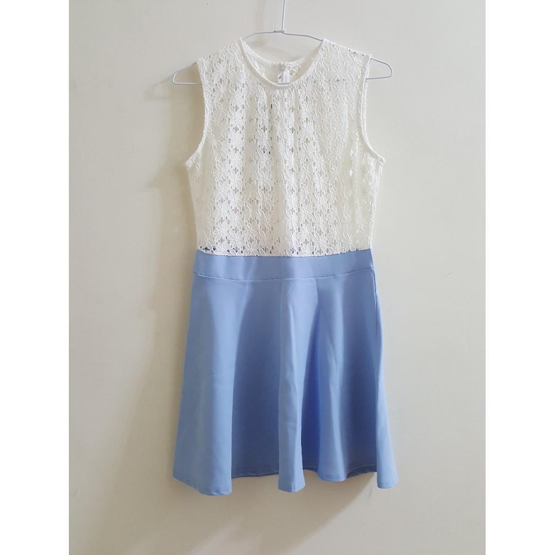 【全新】正韓氣質蕾絲小洋裝