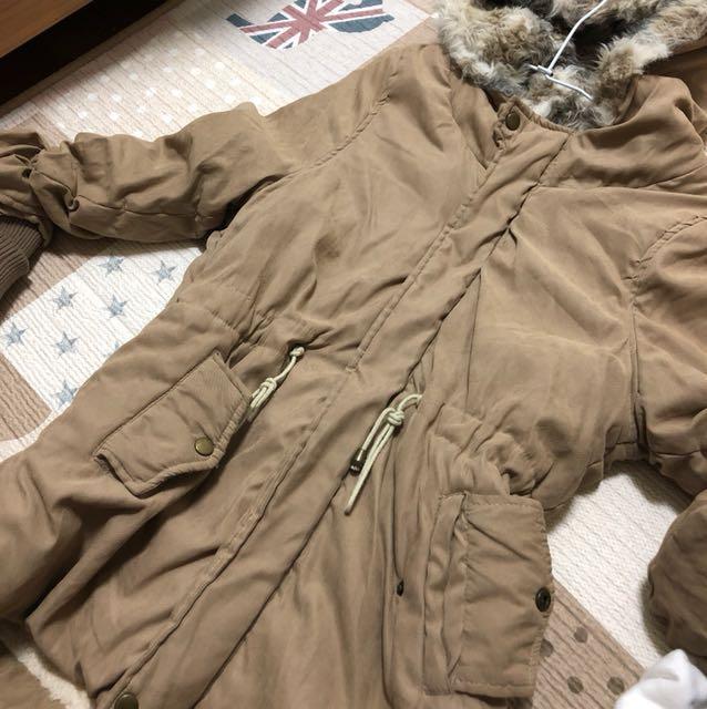 長板舖毛外套