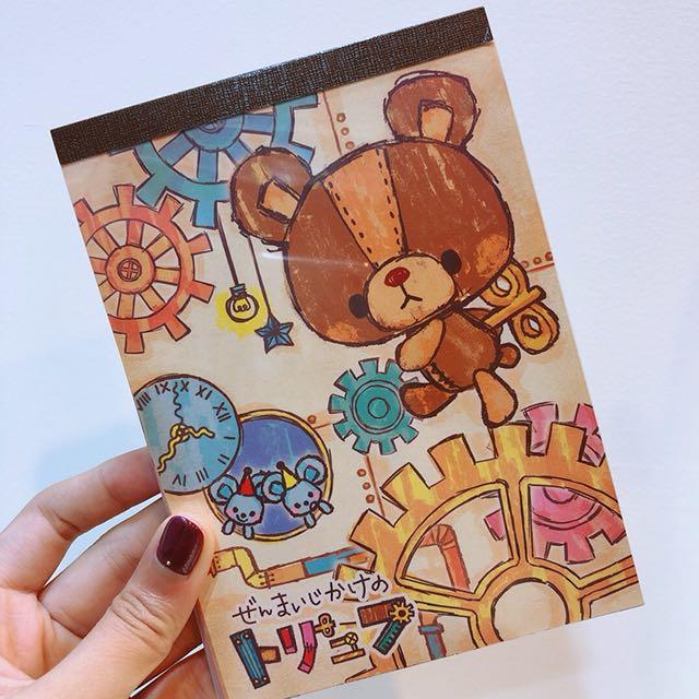 日本萌萌小熊熊信紙本