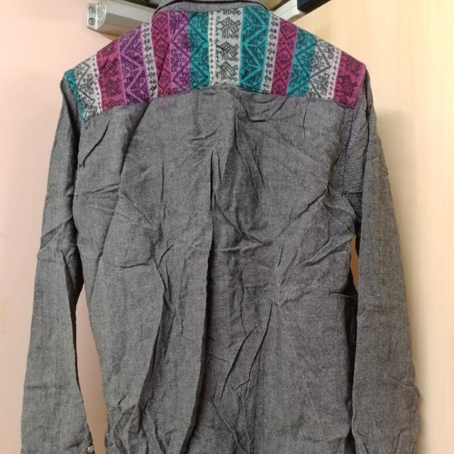 印花民族恤衫