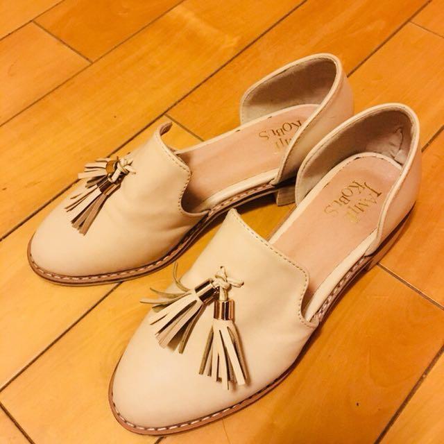 韓版 流蘇平底鞋
