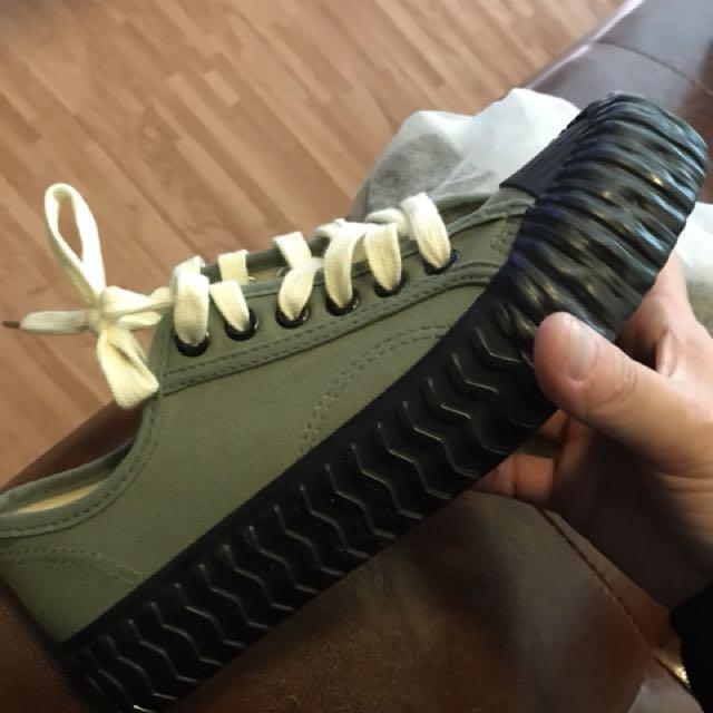 帆布鞋 餅乾鞋