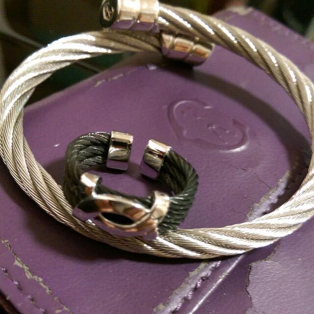 夏利豪 CHARRIOL 經典手環 戒指