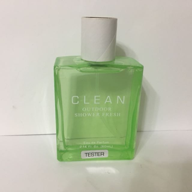 二手 Clean Outdoor Shower Fresh 戶外清新女性淡香精 TESTER - 60ml