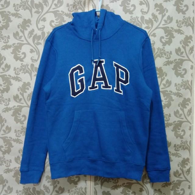 日本購入 gap內刷毛保暖帽T