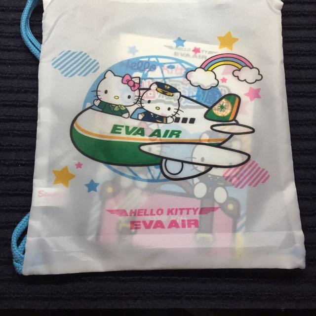 長榮航空 HELLO KITTY 飛機 貼紙遊戲包