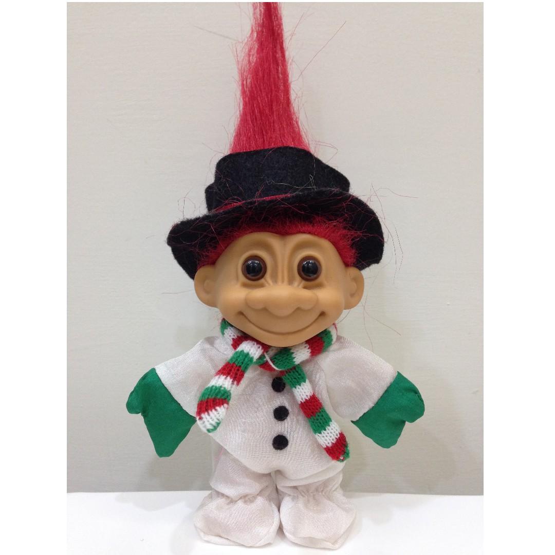 幸運小子 (小雪娃)醜娃、巨魔娃娃、醜妞、Troll Doll、魔髮精靈