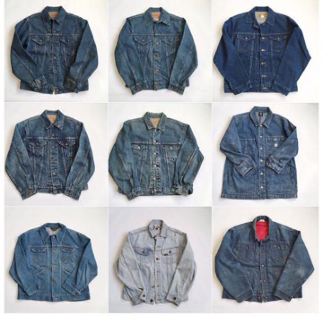 湯姆貓精選 Vintage Denim Jacket