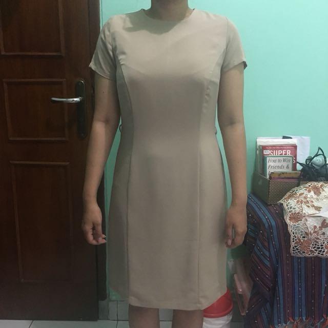 Accent Cream Dress