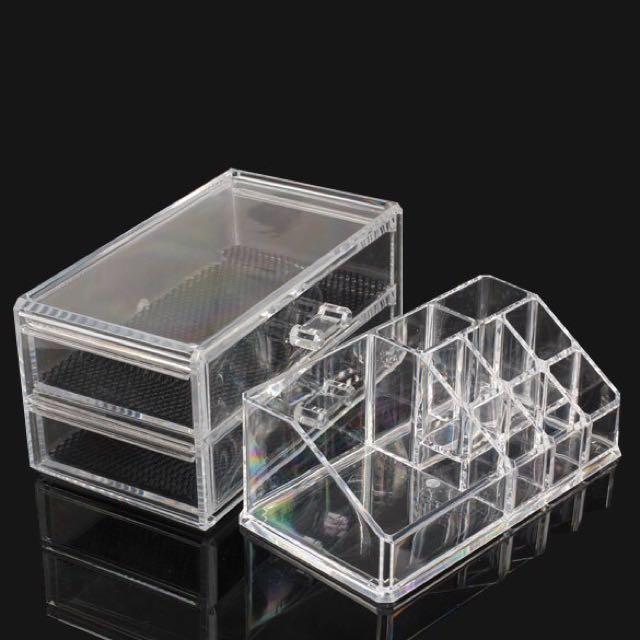 Acrylic Makeup Organizer Container