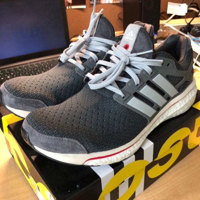 best service e7d72 0a2c1 Adidas Consortium Energy Boost Run Through Time, Mens Fashion, Footwear on  Carousell