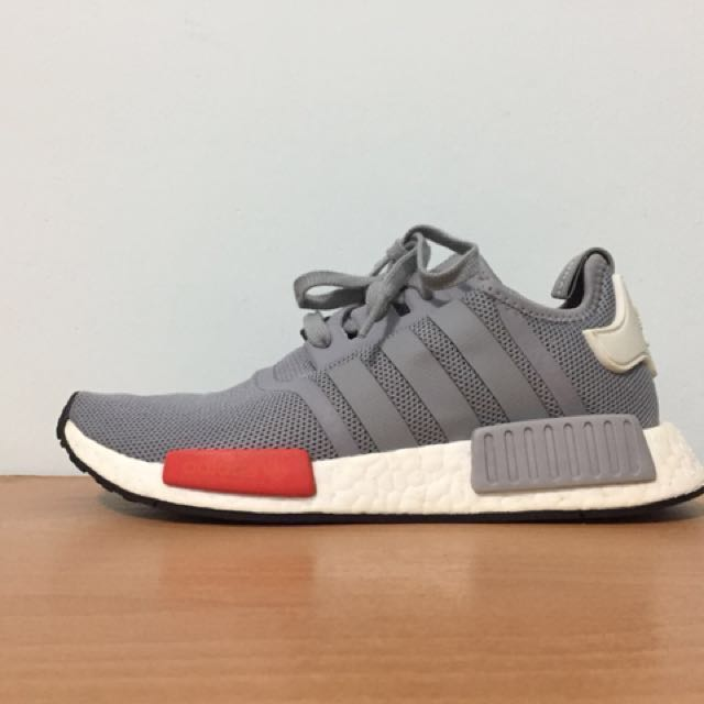Adidas Nmd r1 灰紅 boost