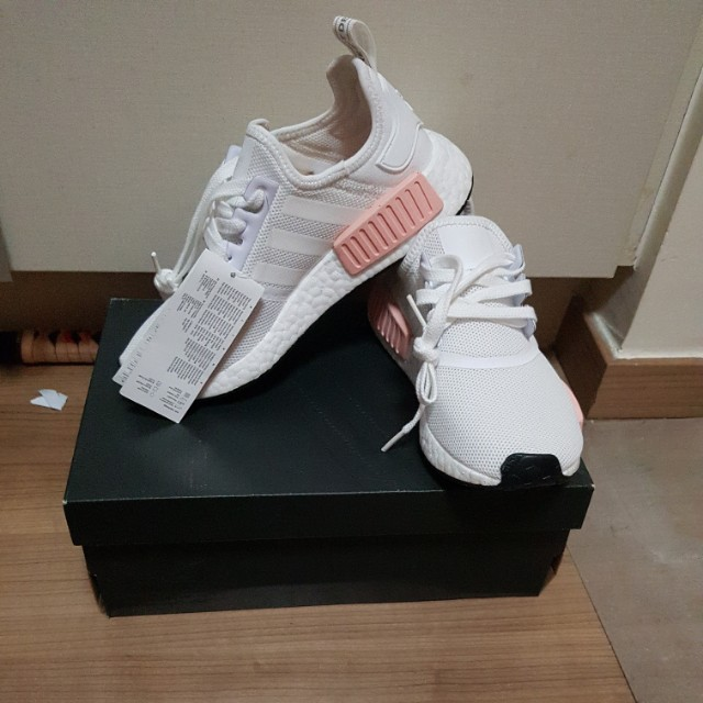 Adidas NMD R1 Rose Gold, Women's Fashion, Shoes on Carousell