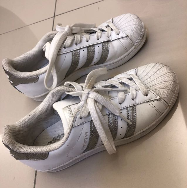 Adidas Superstar Silver Stripes