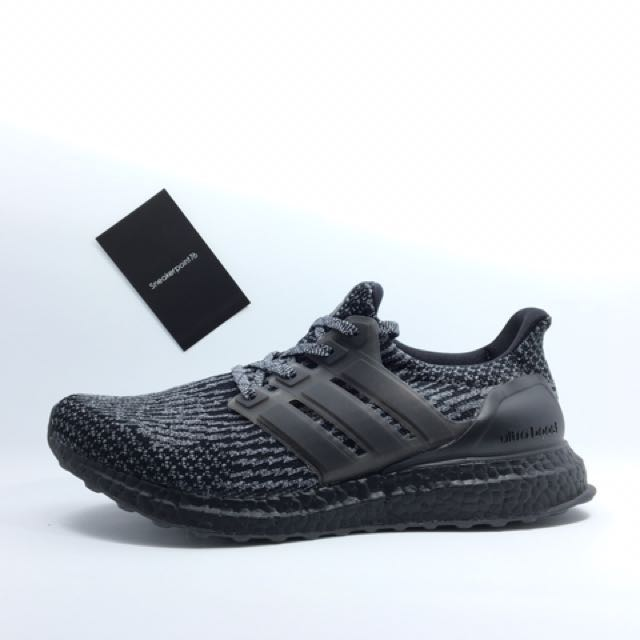 new product fe6dc 7d6aa 售Adidas Ultra boost Black/Silver BA8923