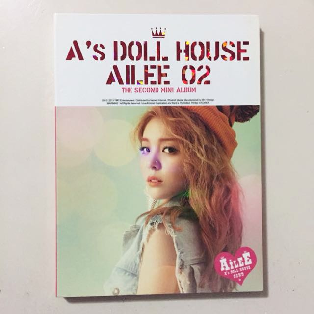 AILEE A's DOLL HOUSE [NO CD]