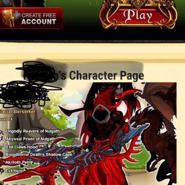 Aqw Account For Sale Read Description Toys Games Video Gaming Video Games On Carousell