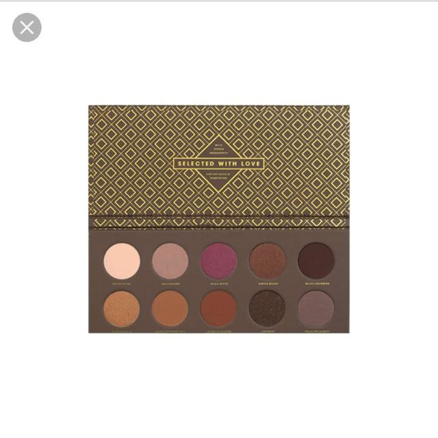 Authentic Zoeva Cocoa Blend Eyeshadow Palette #MIDJAN55